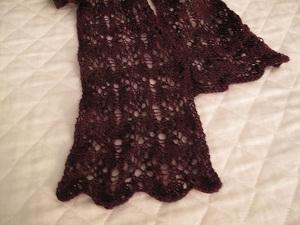 Drunken lace scarf 2