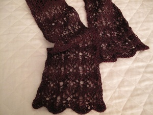 Drunkenlace scarf