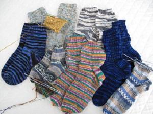 Xmas sock progress