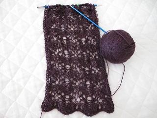 Plumscarf