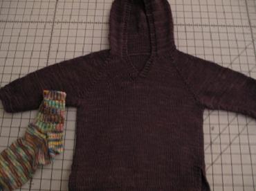 Xanders sweater blocking