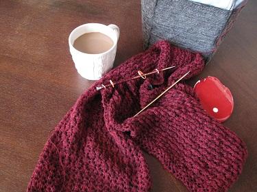 Lace class scarf inprogress01