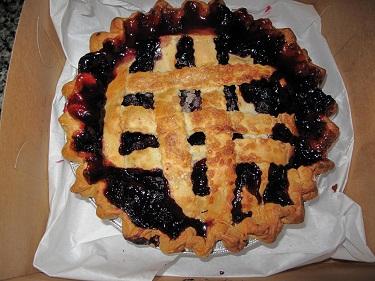 Farmers market pie