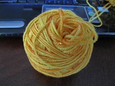 Alisha goldfish yarn