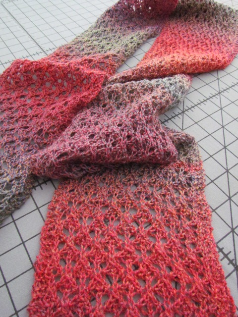 Best Friend Lace Scarf The Knitting Buzz