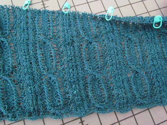 Perpetua blue lace wrap wip 01