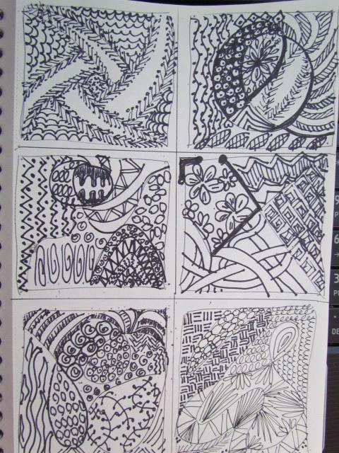 Doodles tangle 003