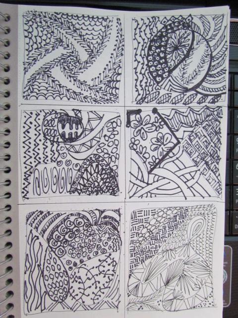 Doodles tangle 002