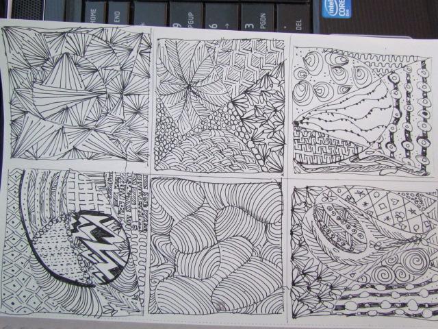 Doodles tangle 005