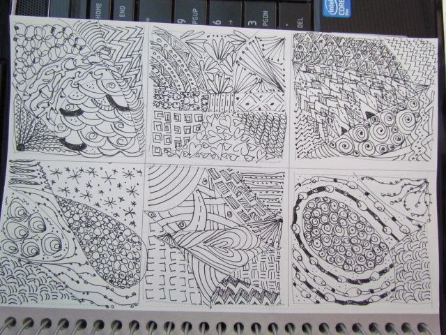 Doodles tangle 007
