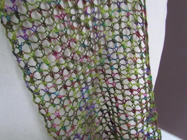 Open Mesh Knitting Stitches : the knitting buzz: Lace Knitting