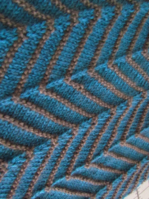 luxurious yarn and a new technique - the knitting buzz