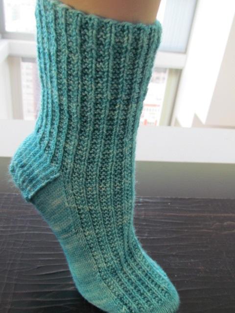 Half rib sock full 02