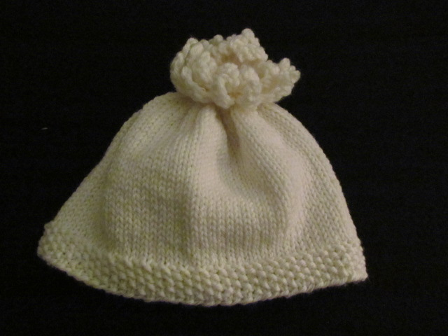Easy peasy baby hat 013