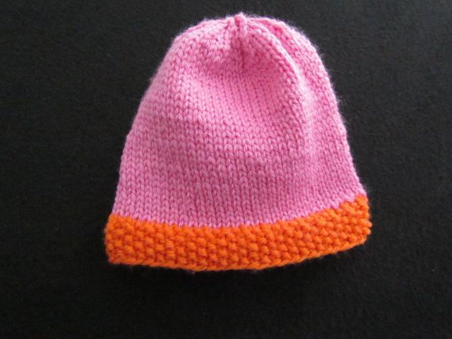 Easy peasy baby hat 001