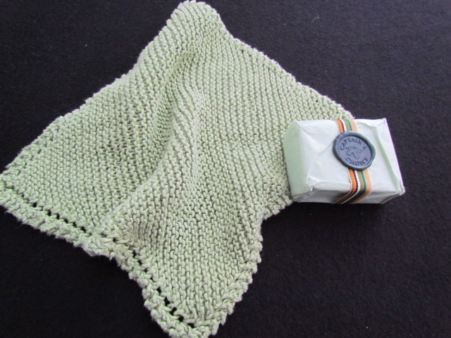 Hemp wash cloth face cloth 005