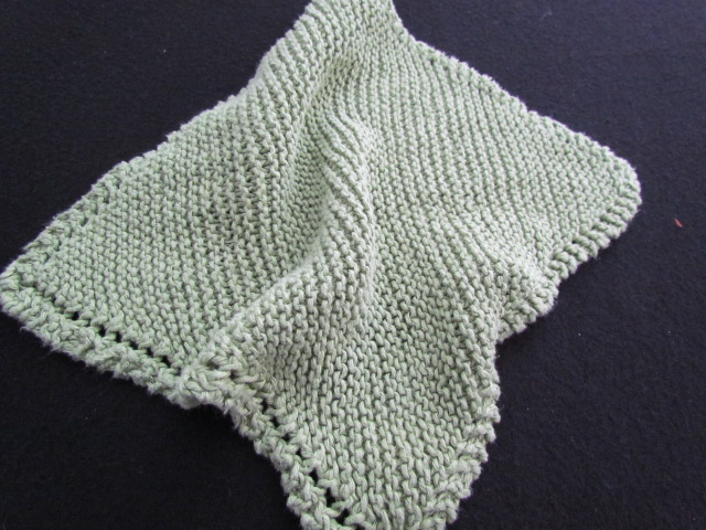 Hemp wash cloth face cloth 004
