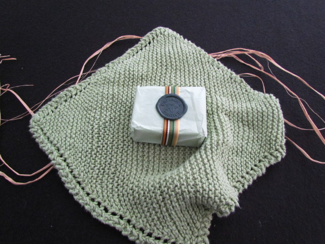 Hemp wash cloth face cloth 001