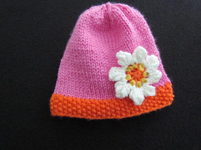 Easy peasy baby hat 002