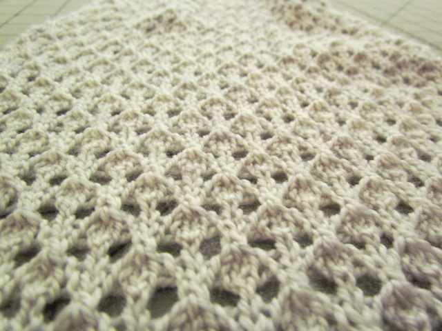 the knitting buzz: Lace Knitting