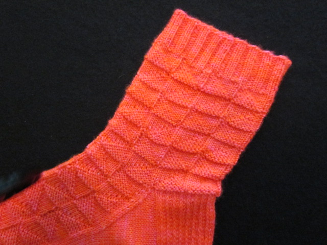 Mosaic tile sock 011