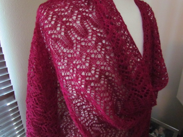 Party lace wrap drape 01
