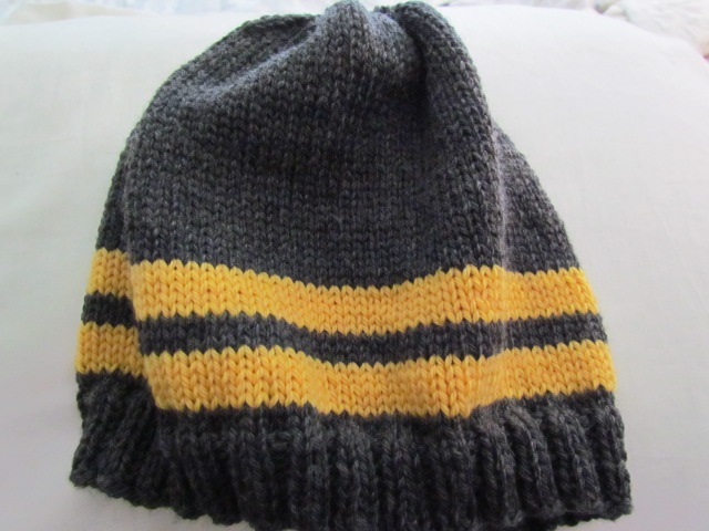 Stripe hat for xander