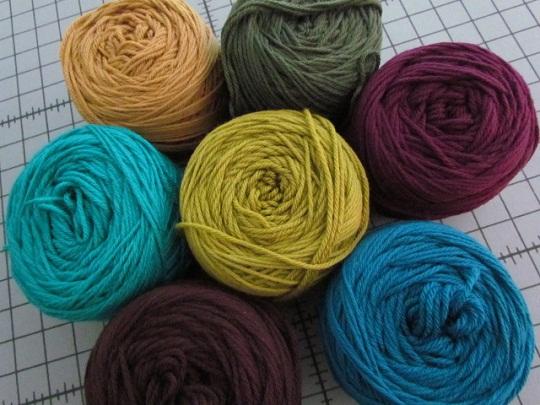 Vintage ripple yarn