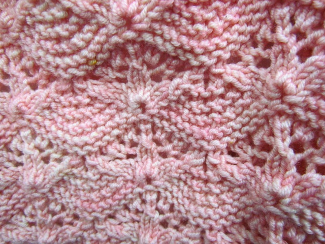 Secret garden baby blanket extra closeup