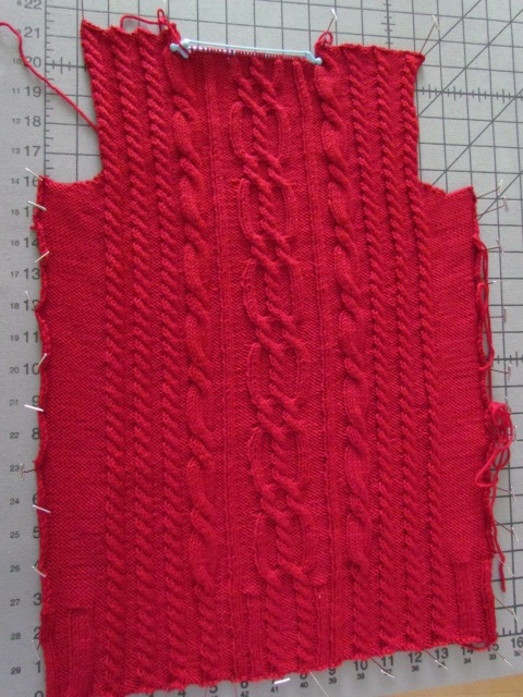 Xanders Cabled Sweater back 01