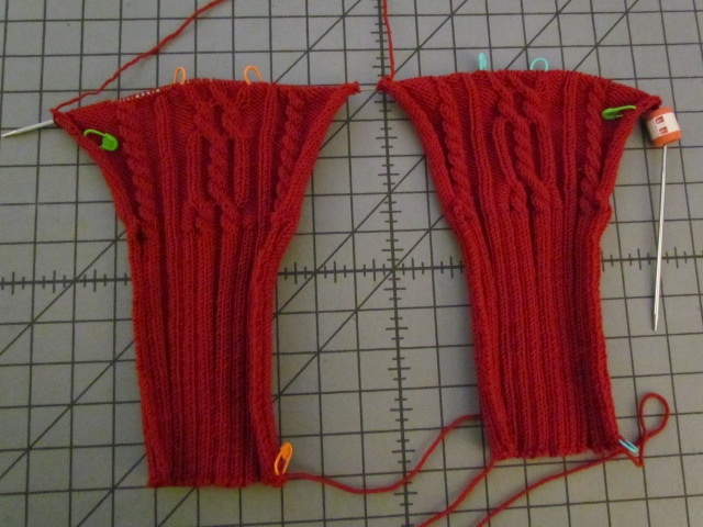 Xanders Cabled Sweater sleeves 01