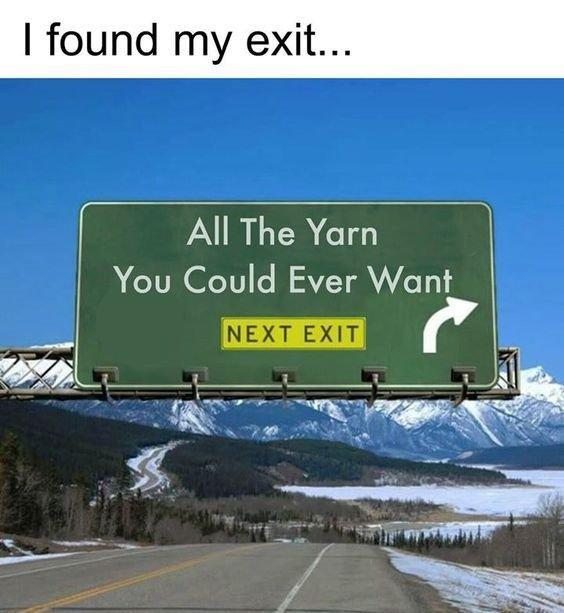 Yarn exit