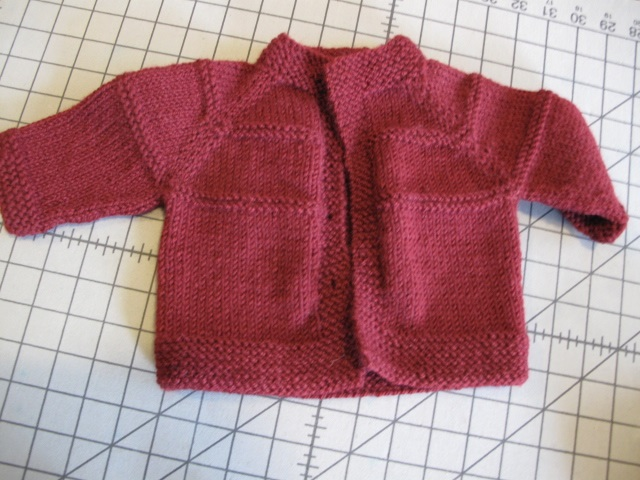Baby cardi missing buttons