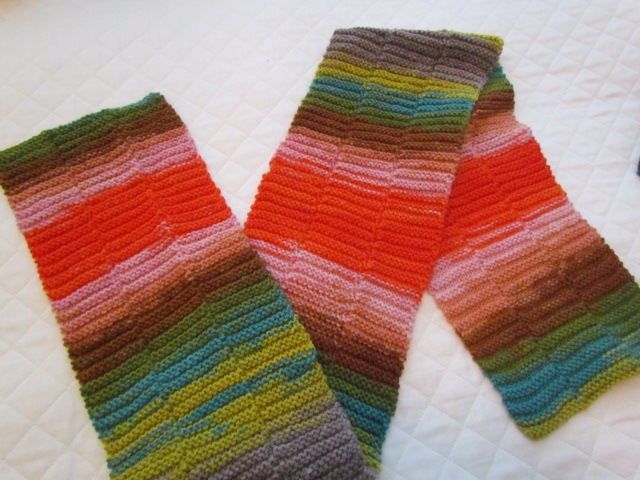 Xmas stockings, broken rib scarf, horizon rib scarf, dawn socks, 010