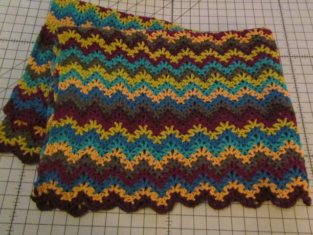 Vintage Morrocan Crochet Blanket 001