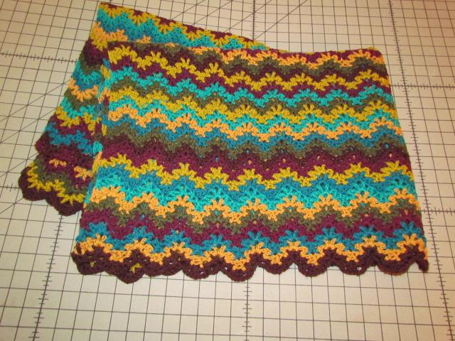 Vintage Morrocan Crochet Blanket 002