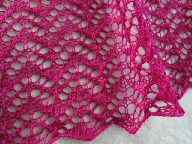 Party lace wrap edge