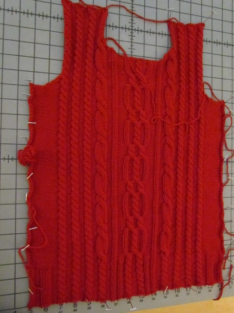 Xanders Cabled Sweater front 02